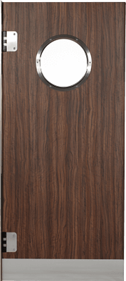 PE swingdoors GP800 Grothaus wooden door natural wood decor