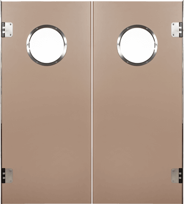 PE swingdoors GP800 Grothaus wooden door beige double door