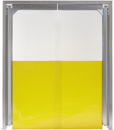 PE swingdoors Grothaus yellow